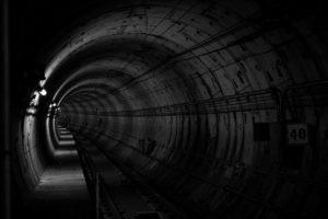 地下鉄の線路