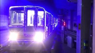 ニュートラムのイルミネーション列車
