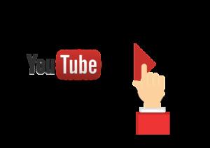 YouTubeを再生