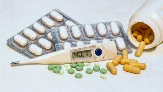 高熱と薬とインフルエンザ