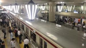 御堂筋線天王寺駅
