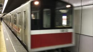 御堂筋線大国町駅